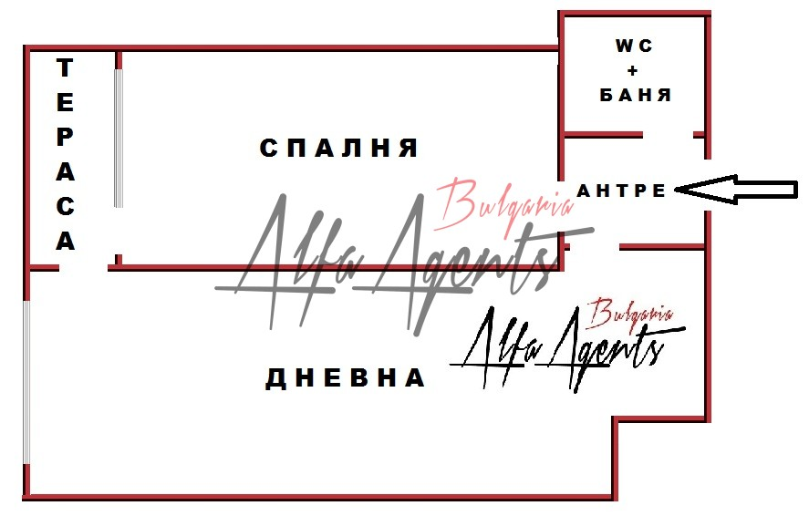 Алфа Агенти недвижими имоти Варна   Двустаен, Младост