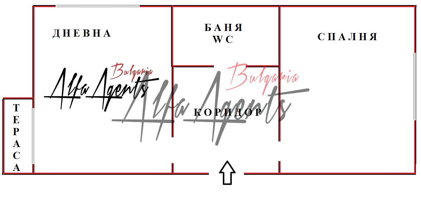 Алфа Агенти недвижими имоти Варна   Двустаен, Виница