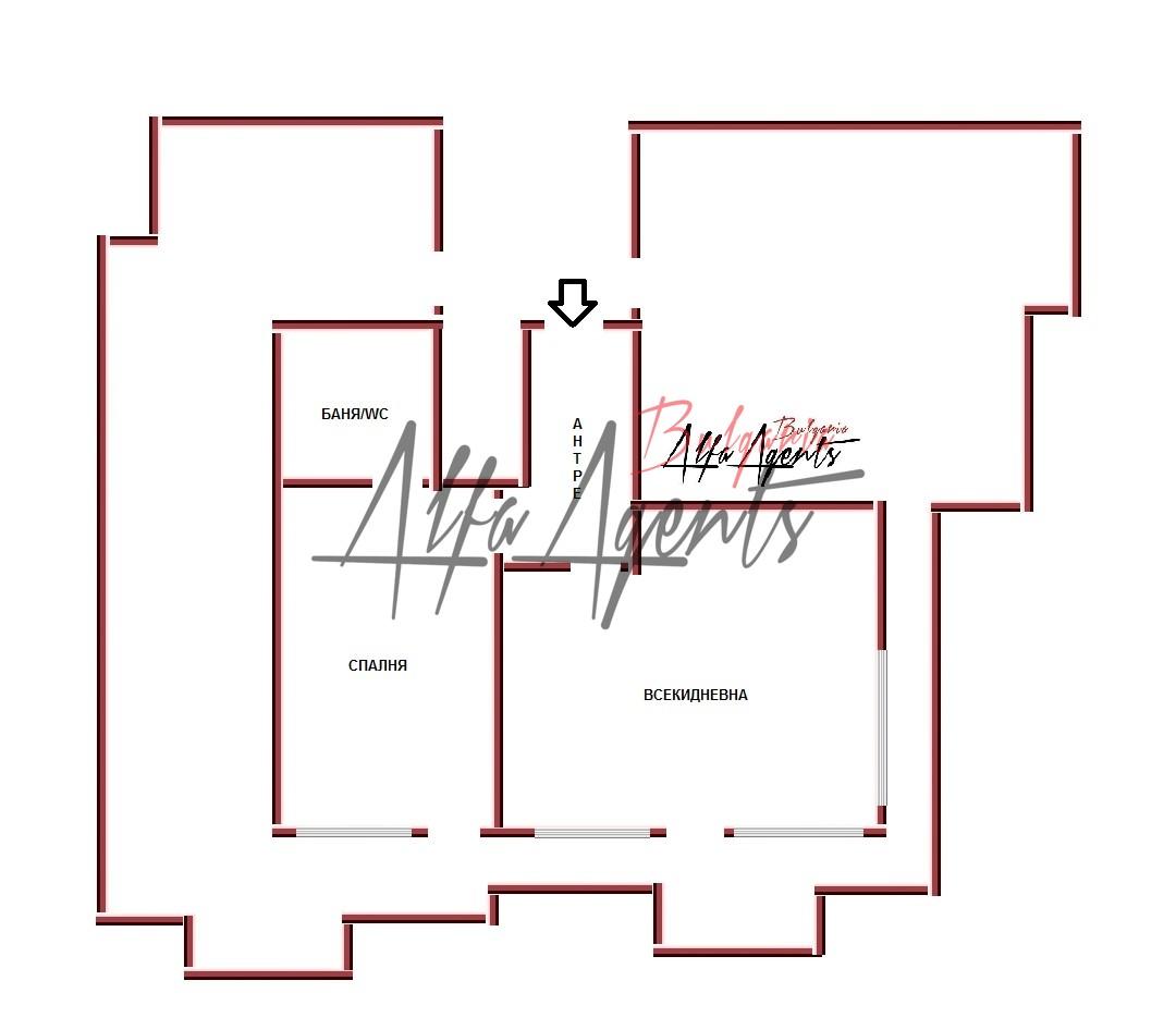 Алфа Агенти недвижими имоти Варна   Двустаен Апартамент + Паркомясто