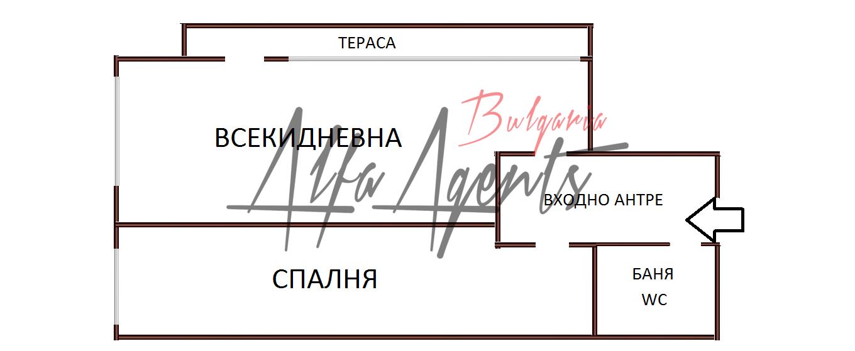 Алфа Агенти недвижими имоти Варна   Двустаен апартамент