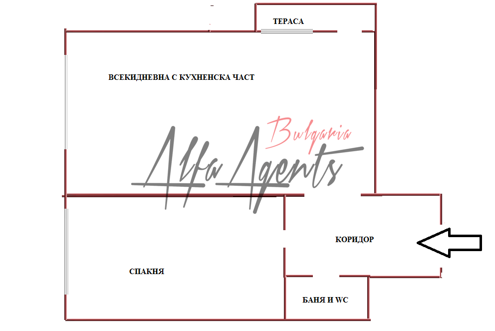 Алфа Агенти недвижими имоти Варна | двустаен апартамент